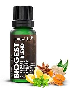 Puravida Biogest Blend de Óleos Essenciais 15ml