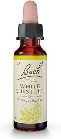 Florais de Bach White Chestnut Original