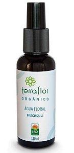 Terra Flor Água Floral Patchouli Hidrolato Orgânico 120ml
