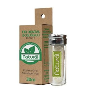 Suavetex Natural Fio Dental Ecológico de Milho