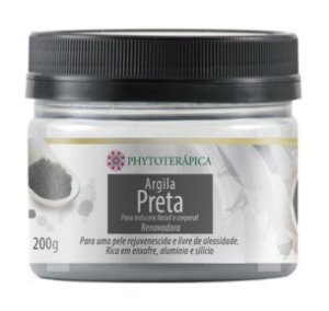 Phytoterápica Argila Preta 200g