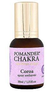 Pomander Chakra Coroa Spray Ambiente 30ml