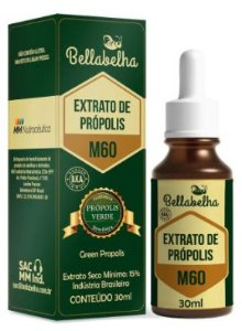 Bellabelha Extrato de Própolis Verde M60 15% 30ml