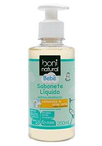 Boni Natural Bebê Sabonete Líquido Camomila e Aloe Vera 250ml