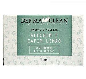 Derma Clean Sabonete Vegetal Alecrim e Capim Limão 100g