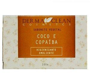 Derma Clean Sabonete Vegetal Coco e Copaíba 100g