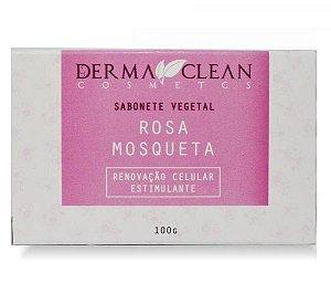 Derma Clean Sabonete Vegetal Rosa Mosqueta 100g