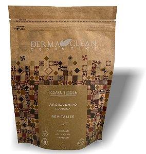 Derma Clean Prima Terra Argila Dourada / Amarela em Pó 250g