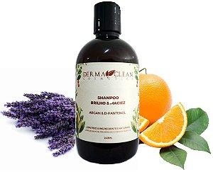 Derma Clean Shampoo Argan e D-Pantenol - Brilho e Maciez 240ml