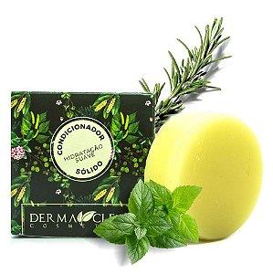 Derma Clean Condicionador Sólido Hidratação Suave com Alecrim, Menta e Capim Limão 60g