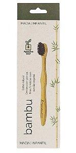 Agora Sou ECO Escova Dental Ecológica de Bambu Infantil 1un
