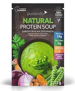 Puravida Natural Protein Soup - Sopa Instantânea Sabor Ervilha Defumada 35g