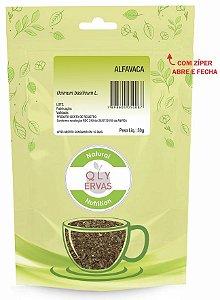 QLY Ervas Chá de Alfavaca (Manjericão) Fracionado 30g