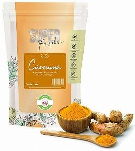 QLY Ervas Super Foods Cúrcuma em Pó Condimento Puro 100g