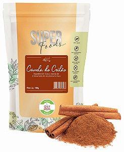 QLY Ervas Super Foods Canela do Ceilão em Pó Condimento Puro 100g