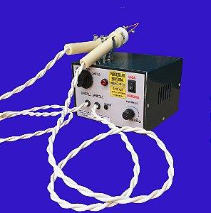 Pirógrafo profissional industrial 100 watts - modelo  PP-20,  bivolt  2 canetas
