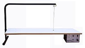 Cortador XPS  Profissional - Modelo MM-30 de bancada, Fio de corte 28cm,  MDF de 90cm x 30cm, vão 50cm