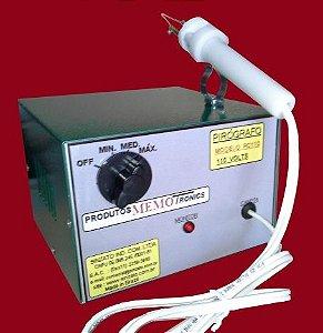 Pirógrafo Profissional Sinzato modelo PC-110.  03 temperaturas, 110 volts.