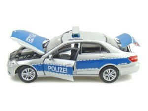 Carro Mercedes Benz E-CLASS Polizei Premiere Edition 1:18 - Maisto