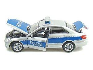 Carro Mercedes Benz E-CLASS Polizei Premiere Edition 1:18 - Maisto