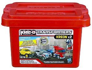 KRE-O Transformers Ultimate Balde Veículos 279 Pçs - A4583