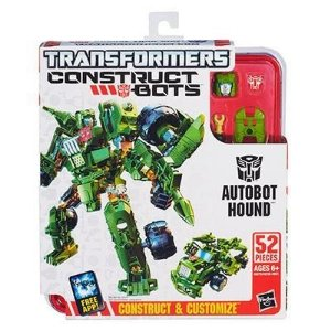 Transformers Construct Bots Autobot Hound Elite Class - A3736 Hasbro