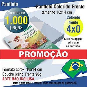 1.000 PANFLETOS PROMOÇÃO 10x14