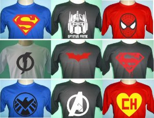 10 CAMISETAS SILK SCREEN 1 Cor Impresão