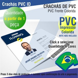 CRACHÁS DE PVC