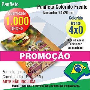 1.000 PANFLETOS PROMOÇÃO 14X20