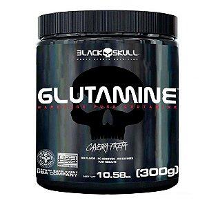 Glutamine Caveira Preta 300g - Black Skull