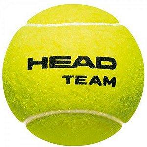 Bola Tenis Head Team Tubo com 3 bolas