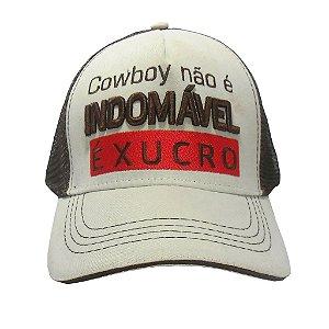 Boné Cowboy não é Indomável é Xucro