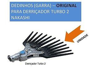 Dedinhos GARRA - Original para Derriçador Turbo 2 Nakashi