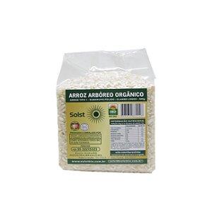 Arroz Arbóreo Orgânico Alto Vácuo Solst - 500g