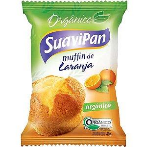 Muffin Orgânico Laranja Suavipan - 40g