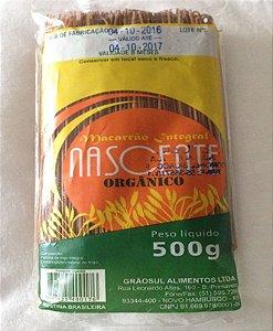 Massa Spaghetti Integral Orgânica Nascente - 500g