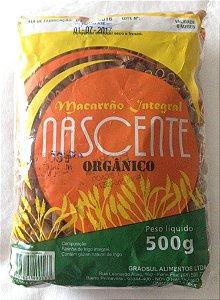 Massa Sedani Rigati Integral Orgânica Nascente - 500g