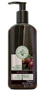 Shampoo Cacau e Nogueira (sem sal e sem corantes / CABELOS ESCUROS) Multi Vegetal - 240ml