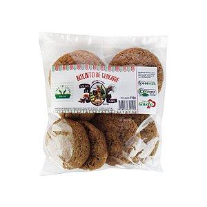 Biscoito Orgânico de Gengibre 150g - Sítio Pé na Terra