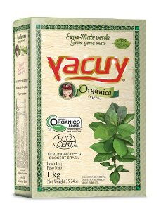 Erva Mate Orgânica Yacuy - 1kg