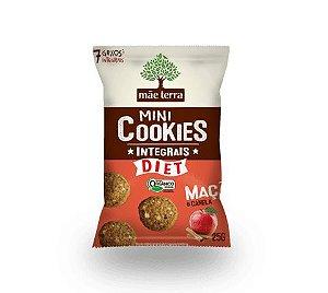 Mini Cookies Integrais Orgânico - Maçã e Canela Mãe Terra - 25g