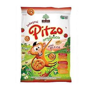 Salgadinho Integral Orgânico Sabor Natural de Pizza - Pitzo - Mãe Terra - 45g