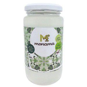 Óleo de Coco Orgânico Extra Virgem - Monama - 280g