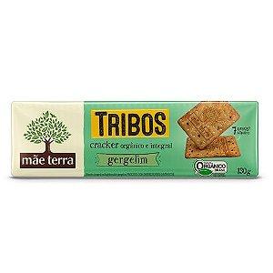 Biscoito Cracker Tribos Orgânico com Gergelim - Mãe Terra - 130g