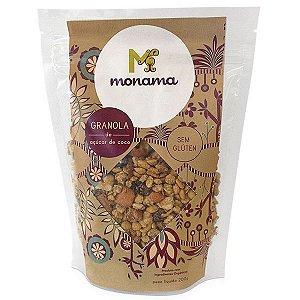 Granola Orgânica de Açúcar de Coco Monama - 200g