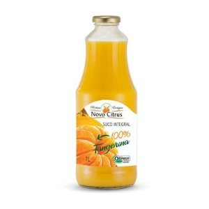 Suco Orgânico de Tangerina Novo Citrus 1 Litro