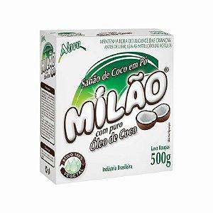 Sabão em Pó de Coco 100% Vegetal Milão - 500g