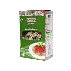 Massa talharim Integral Orgânica Ecobio - 400g