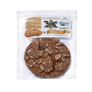 Cookie Orgânico castanha 40g - Sítio Pé na Terra